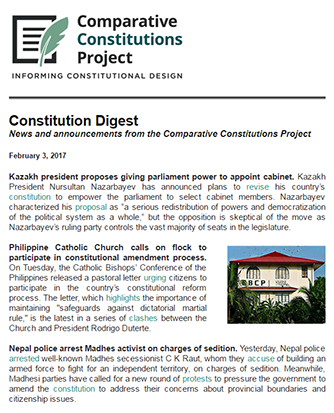 Constitution Digest Archives - Comparative Constitutions Project