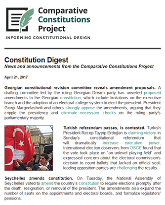 Constitution Digest Archives Comparative Constitutions Project