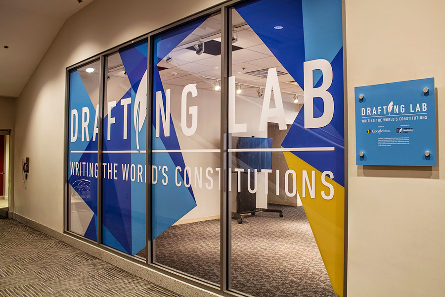 The collaborative Drafting Lab at the National Constitution Center.