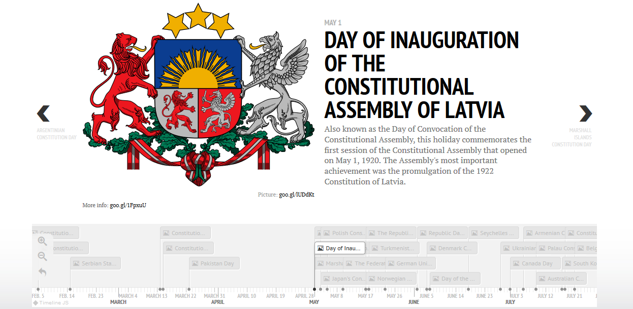 World Constitutional Holidays